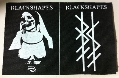 Black Shapes - Double Patch - Nun and Logo