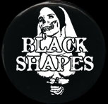 Black Shapes - Nun + Logo Badge