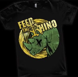 Feed The Rhino Tshirt