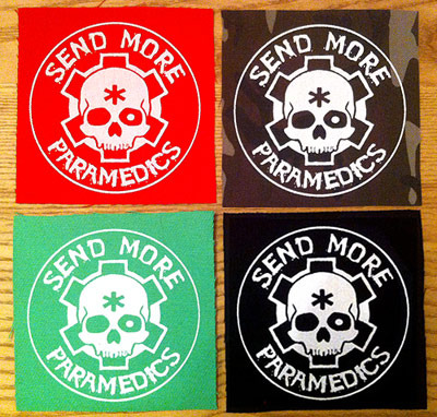 Send More Paramedics - Round Logo Patch