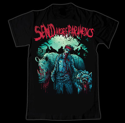 Send More Paramedics  'Unearth:Possessed' Tshirt