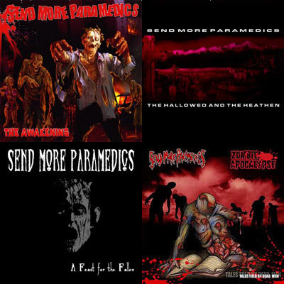 Send More Paramedics - All 4 IATDE Releases on CD
